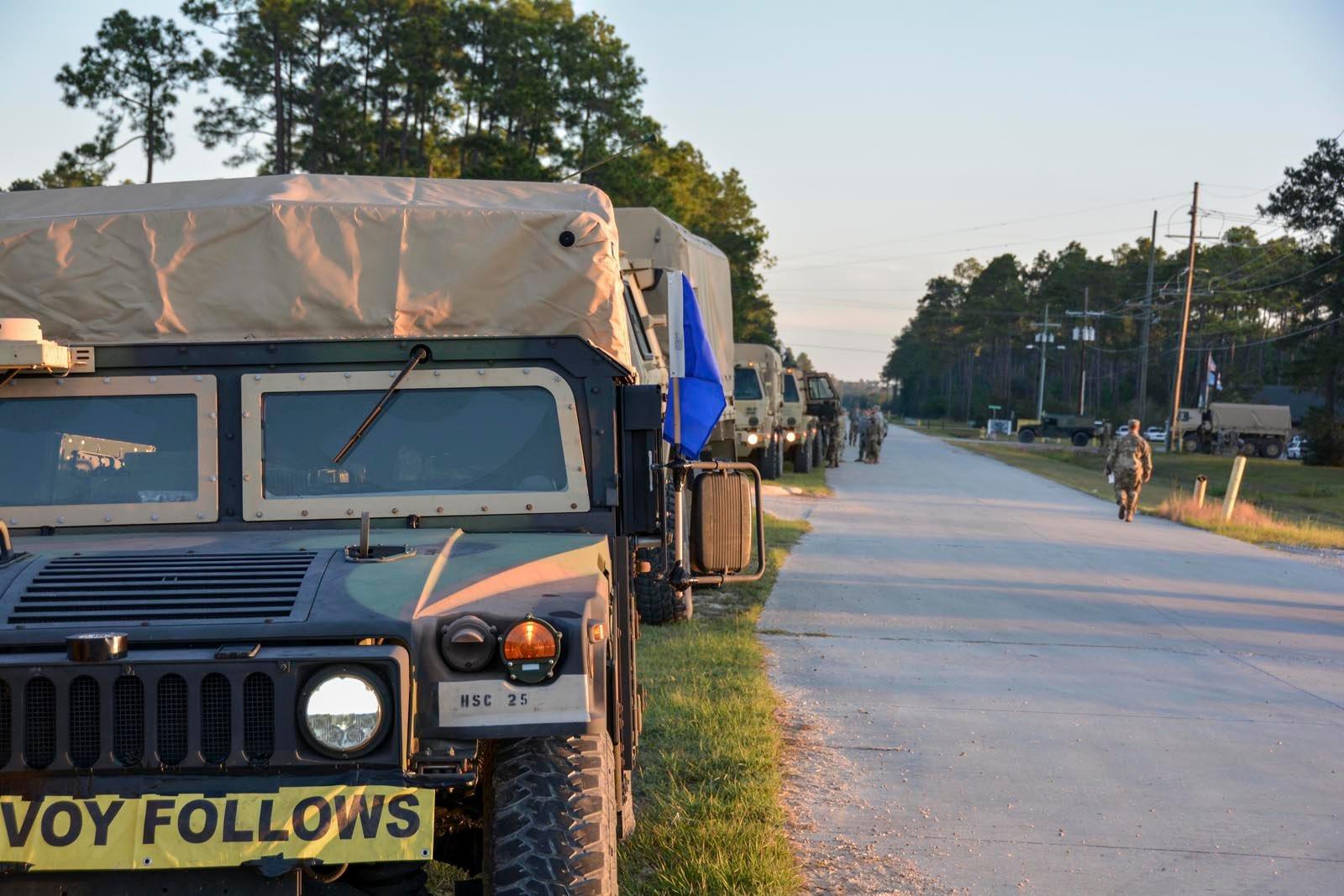 National Guard deployed in Florida / US National Guard