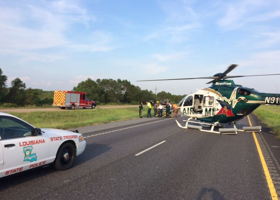 Fatal Crash on I-10 near Welsh / State Police