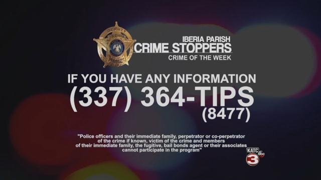 Call Crime Stoppers if you have any information on this crime