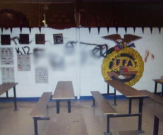 Port Barre police investigate school vandalism incident
