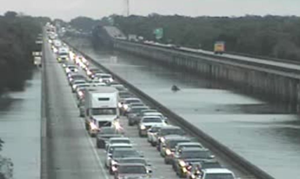 Congestion on I-10 West at Henderson