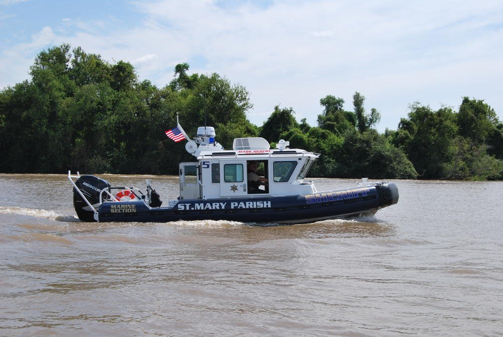SMPSO & U.S. Coast Guard conduct joint water patrol operation / St. Mary Parish Sheriff's Office