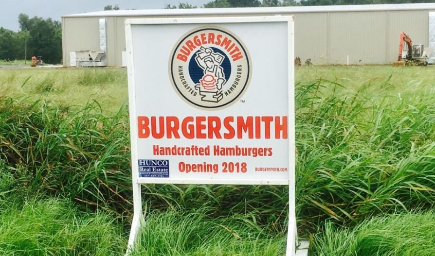 Burger Smith location in Broussard coming in 2018 / Rally Marketing