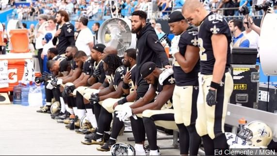 Saints will kneel before anthem, stand for it