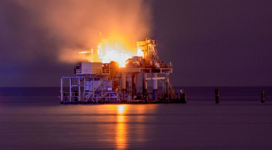 Kenner Oil platform explosion / The Advocate