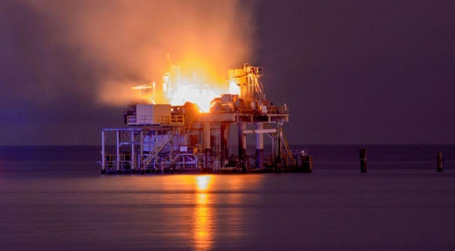 Kenner Oil platform explosion / The Advocate