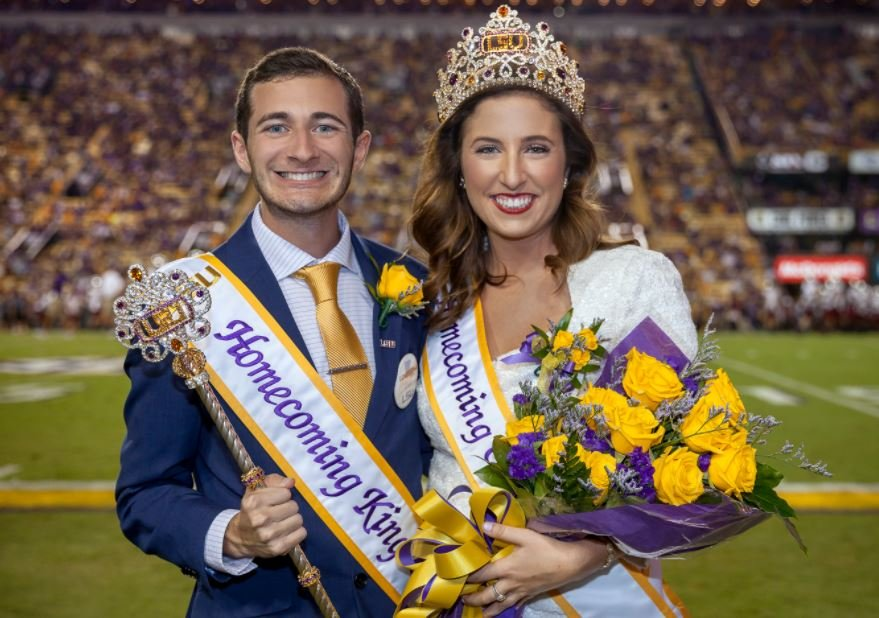 LSU Homecoming King and Queen 2017