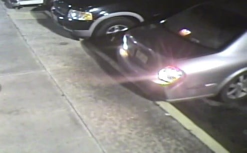 Suspects' car