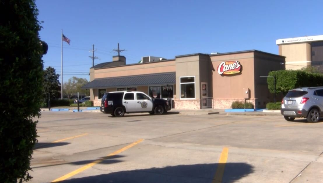 Raisin Canes armed robbery / Iberia Parish Crime Stoppers