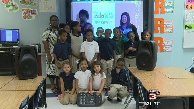 Ms. Lewis' Class at St. Charles Elementary