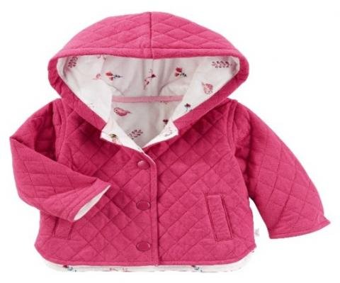 Infant jackets recalled due to possible choking hazard