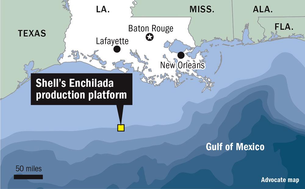 Shell's Enchilada production platform. Dan Swenson/The Advocate
