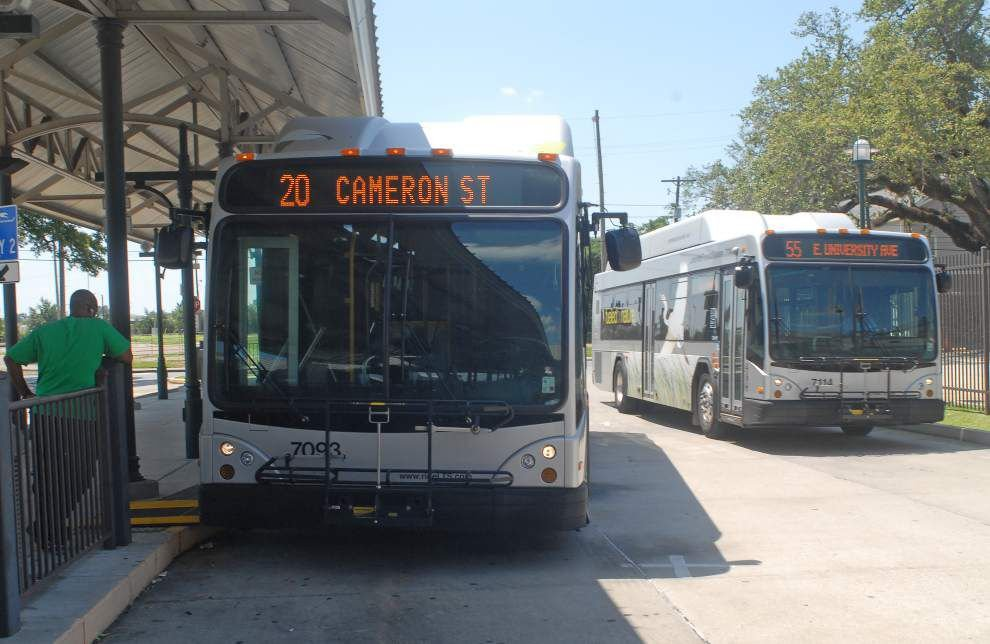 Lafayette city buses