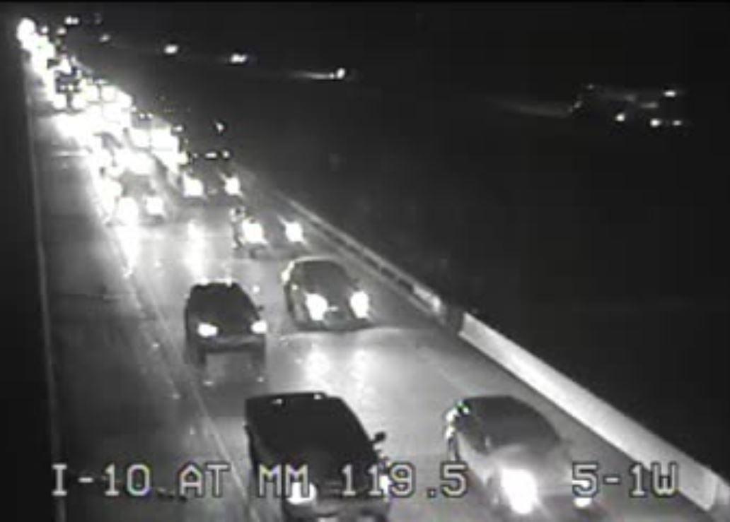 Congestion on I-10 W on the Atchafalaya Basin Bridge / Courtesy: LA DOTD