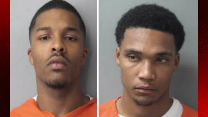 Kennan Charles and Joseph Stelly / Opelousas Police Dept.