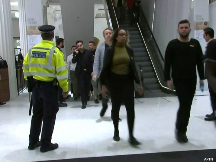 People seen fleeing Oxford Circus Tube station as police respond to 'incident'