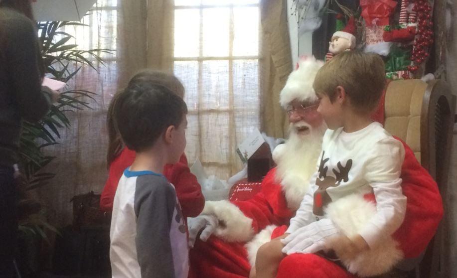 Santa Claus at Grand Noel