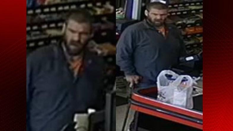 Subject wanted in possible counterfeit money scheme in Scott / Scott Police Department