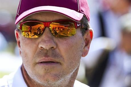 Jimbo Fisher at Florida State (Courtesy of Mark Wallheiser - AP Photo)