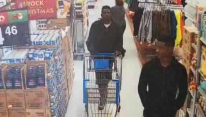 Hammer-wielding Slidell shoplifters get away with $10K in Walmart electronics — Surveillance