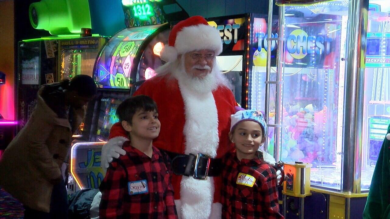 Foster Friends Christmas event / KATC