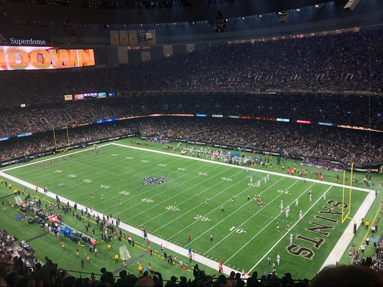New Orleans Saints vs. New York Jets at the Superdome / Courtesy: Ian Auzenne