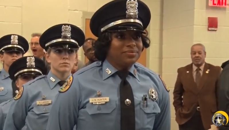 NOPD Officer Jacquen Hunter
