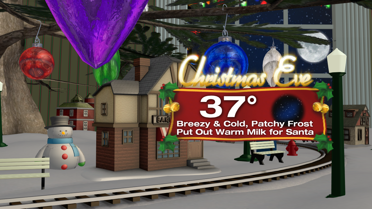 WEATHER GEEK: Will we see a White Christmas?
