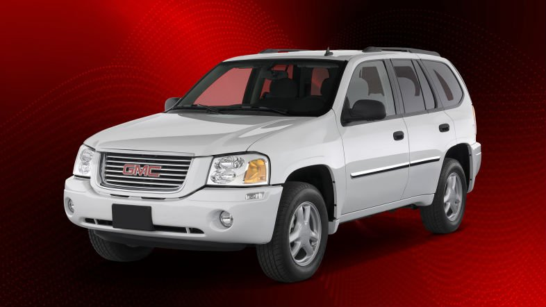 nvestigators are searching for a GMC Envoy with damage on the front / Louisiana State Police Troop C