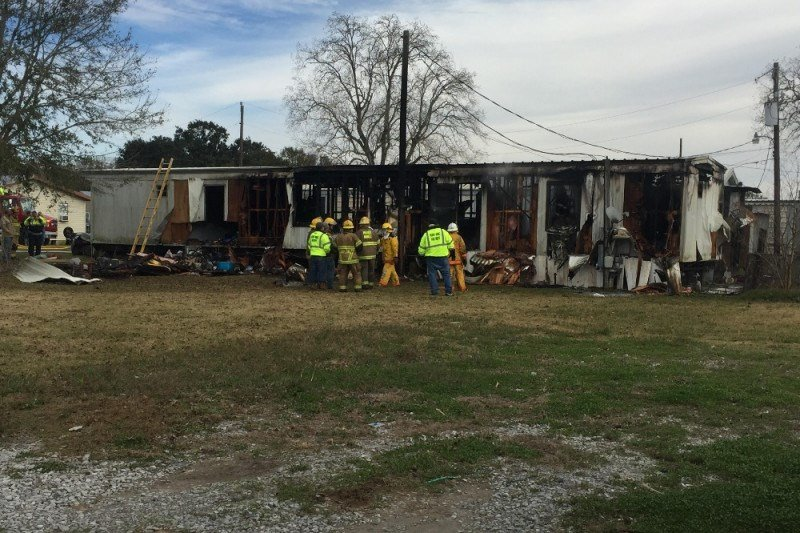 Kaplan family loses home to fire / Photo courtesy of GoFundMe