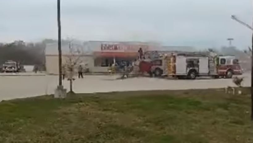 Patterson Family Dollar fire