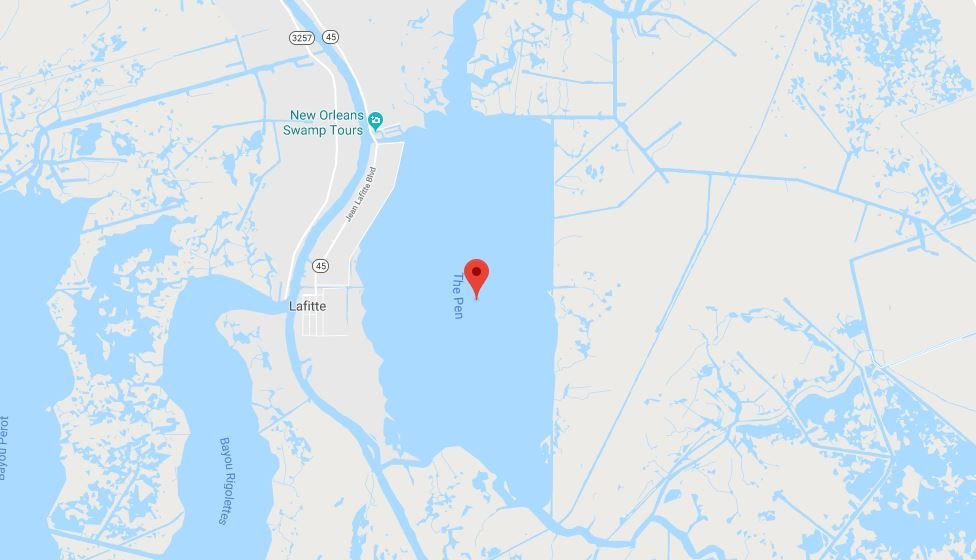 The Pen, Louisiana  / Google maps