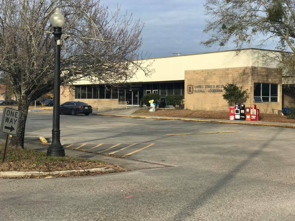 Slidell Post Office where suspicious package reported was called in / Slidell Police Department