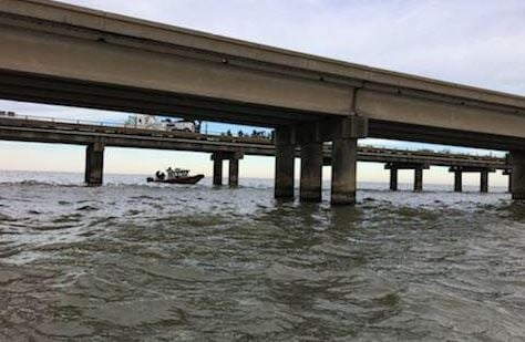 Search for vehicle (PHOTO: US COAST GUARD NEW ORLEANS)