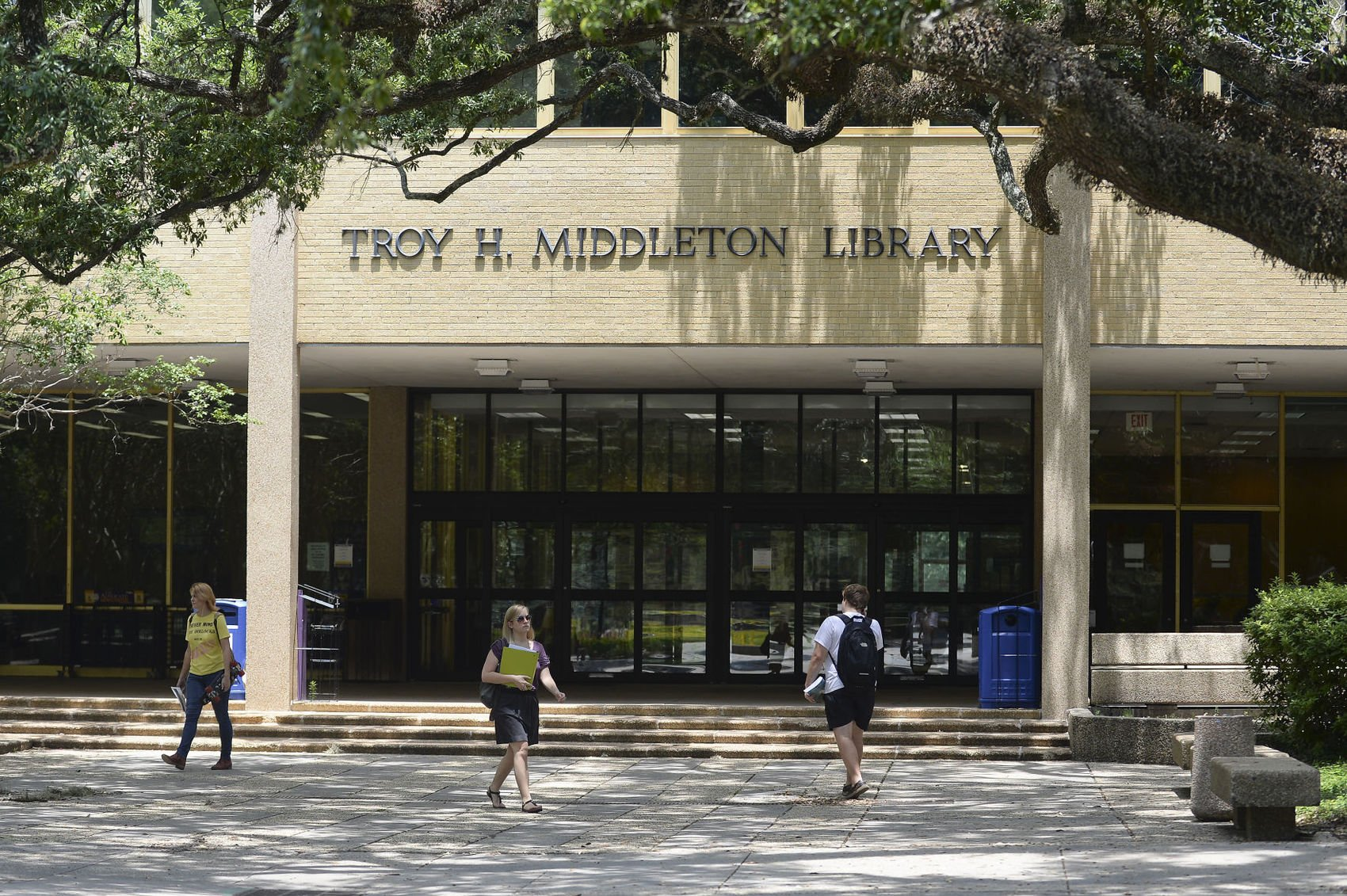 Troy H. Middleton Library on LSU's campus / Photo courtesy of The Advocate