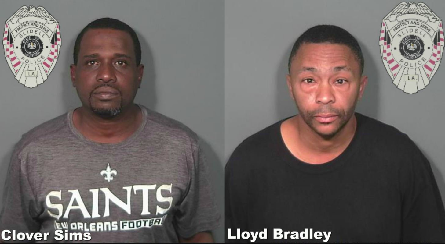 Clover Simms and Llyod Bradley / Slidell Police Dept.