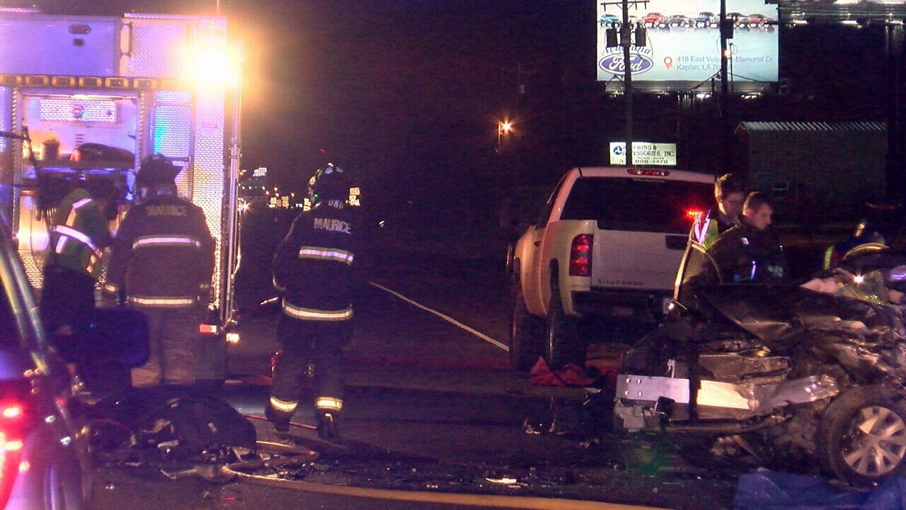 Two North Vermilion High students killed in crash