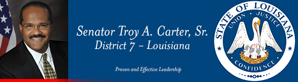 Senator Troy Carter / Photo courtesy of Senator Troy Carter
