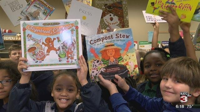 Books for Magnolia Elementary / KATC Tools for School