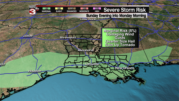 Strong To Severe Storms Tonight