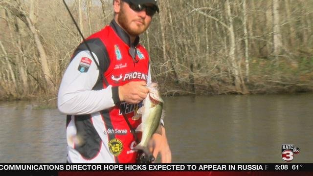 Caleb Sumrall takes on competition fishing