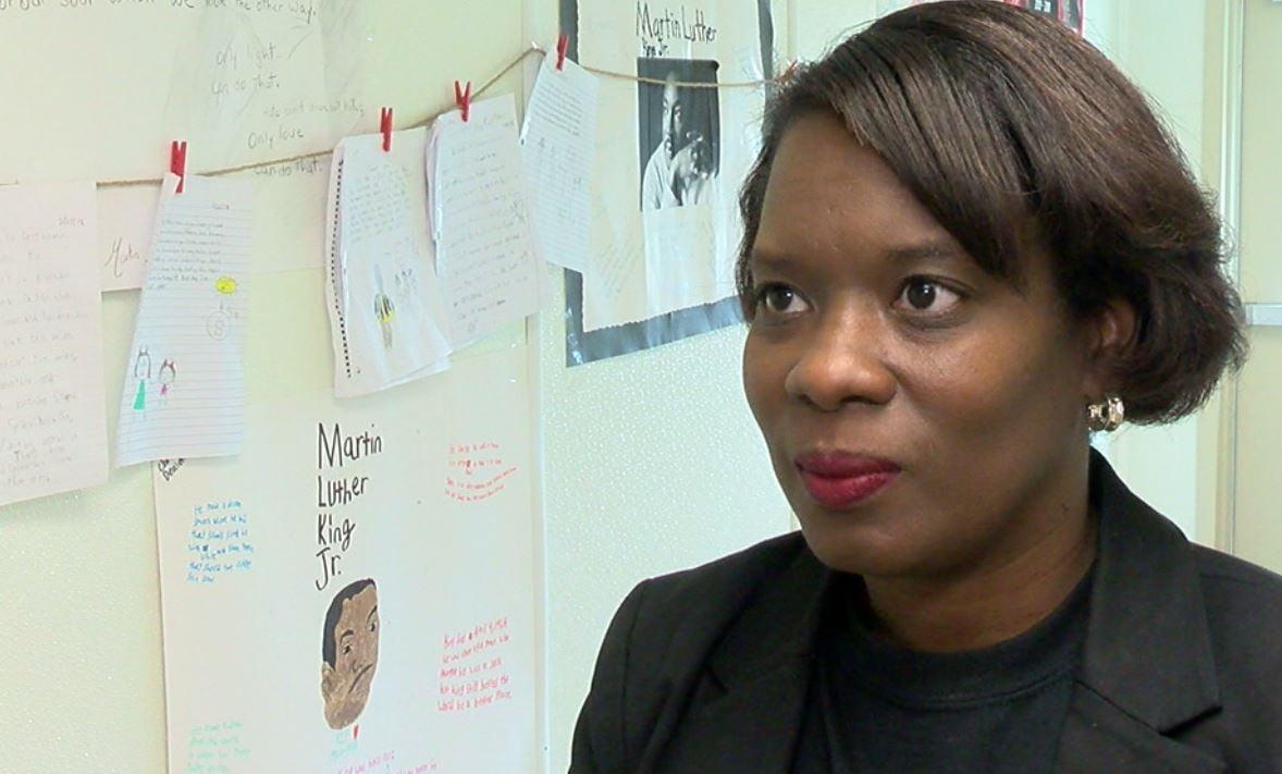 Westside Elementary Principal Lisa Thomas