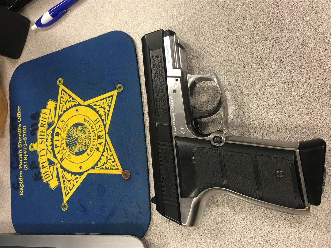 Gun taken from student on Pineville High School's campus / Rapides Parish Sheriff's Office
