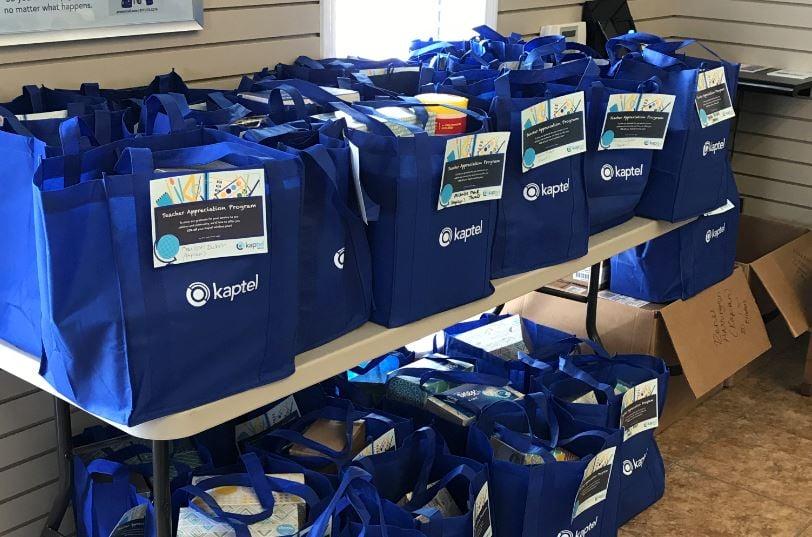 Bags for teachers from Kaptel / Kaptel