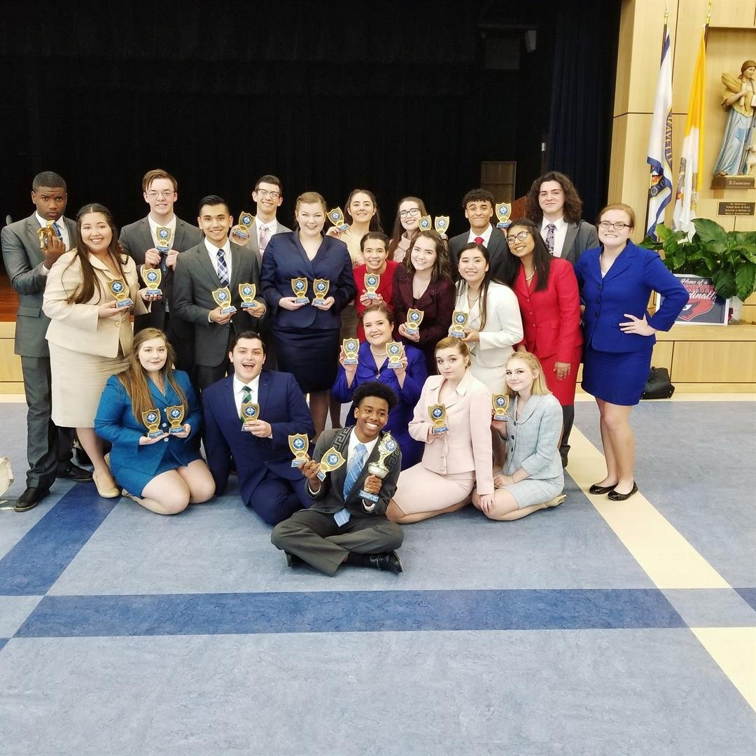 Comeaux High School Speech and Debate team is heading to nationals / Courtesy: Jacob Simon
