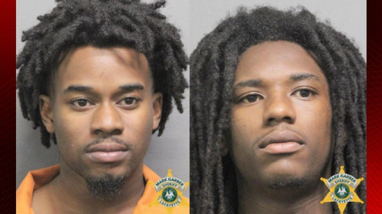 Steven Mamou and Timothy Melancon / Courtesy of the Lafayette Parish Sheriff's Office