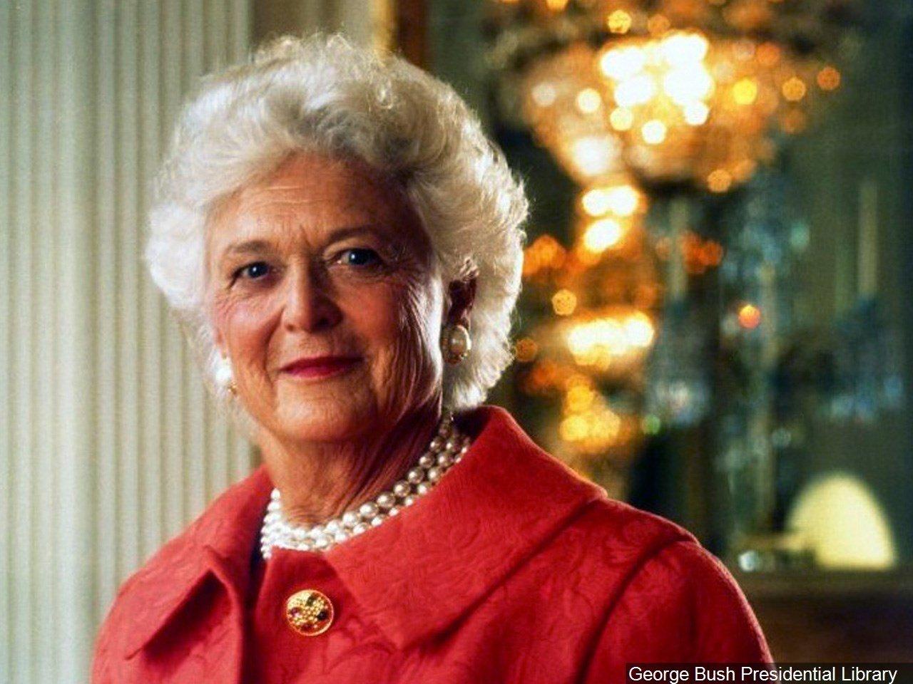 Former first lady Barbara Bush / MGN Online