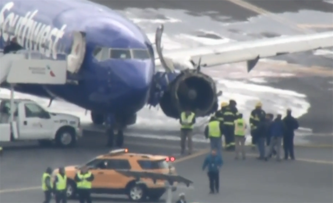 One person dies after Southwest plane makes emergency landing in Philly