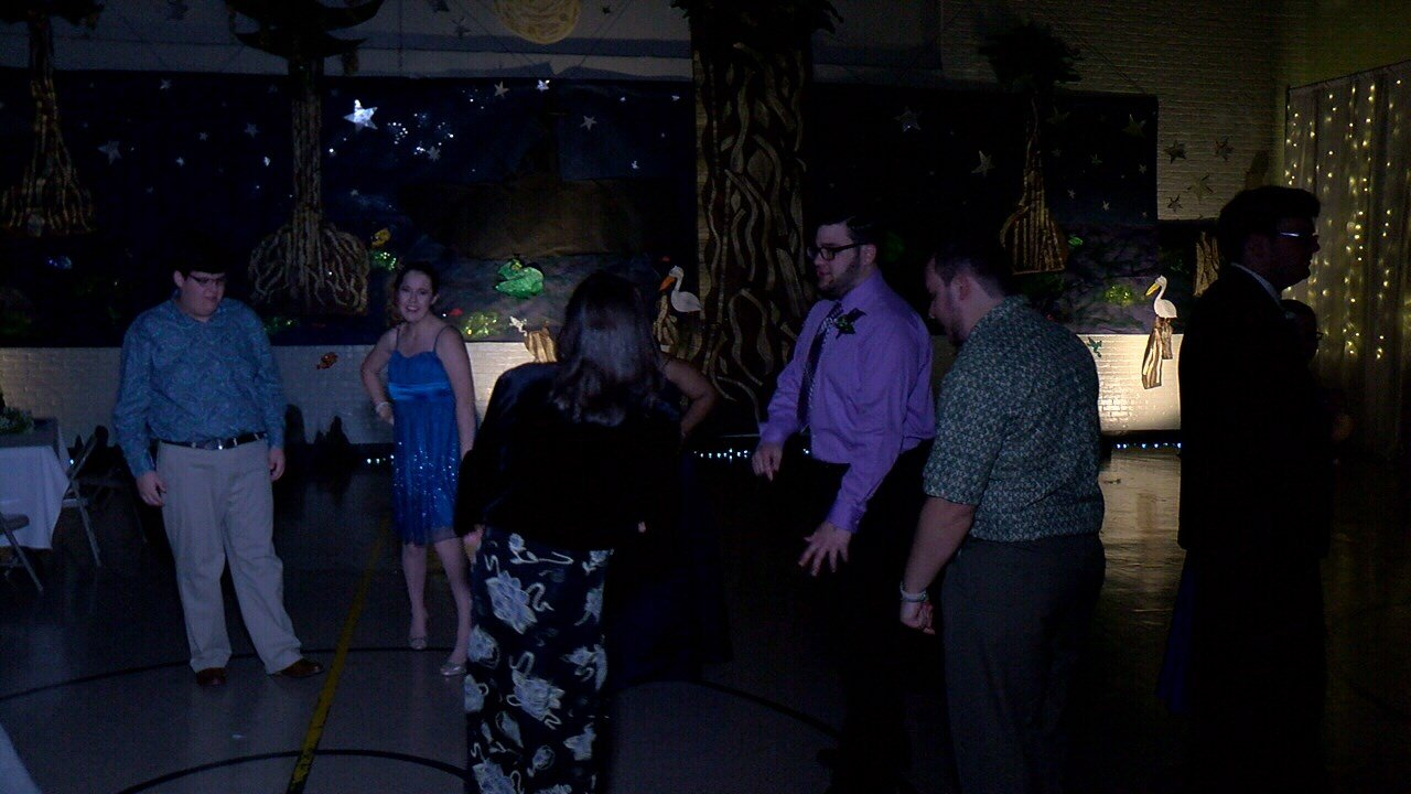 Lafayette Parks and Recreation hosted a prom for teenagers and adults with special needs at the Heymann Recreation Center.