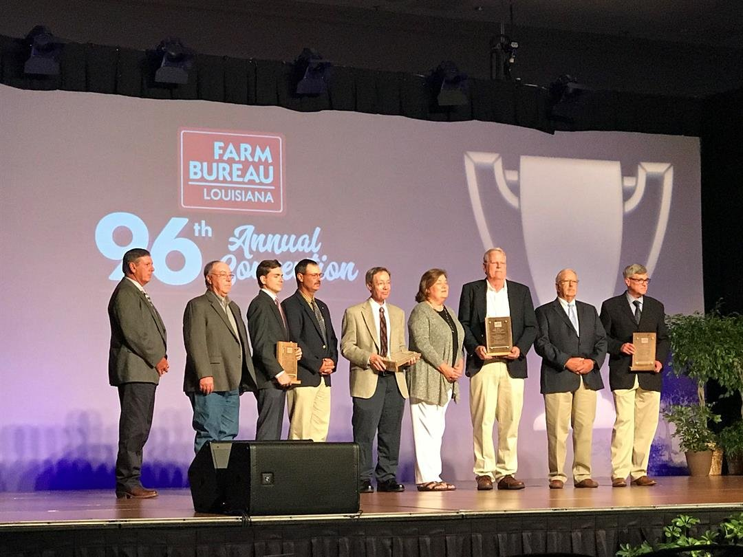 The 96th Annual Meeting of the Louisiana Farm Bureau Federation is underway in New Orleans.